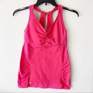 Athleta hot pink tank top